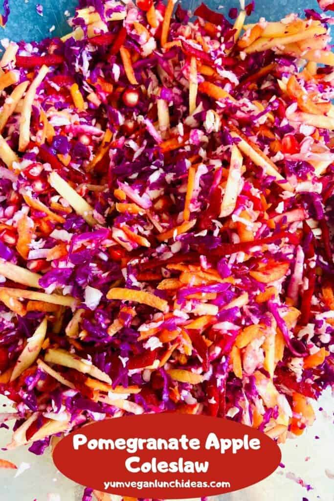 pomegranate coleslaw pin