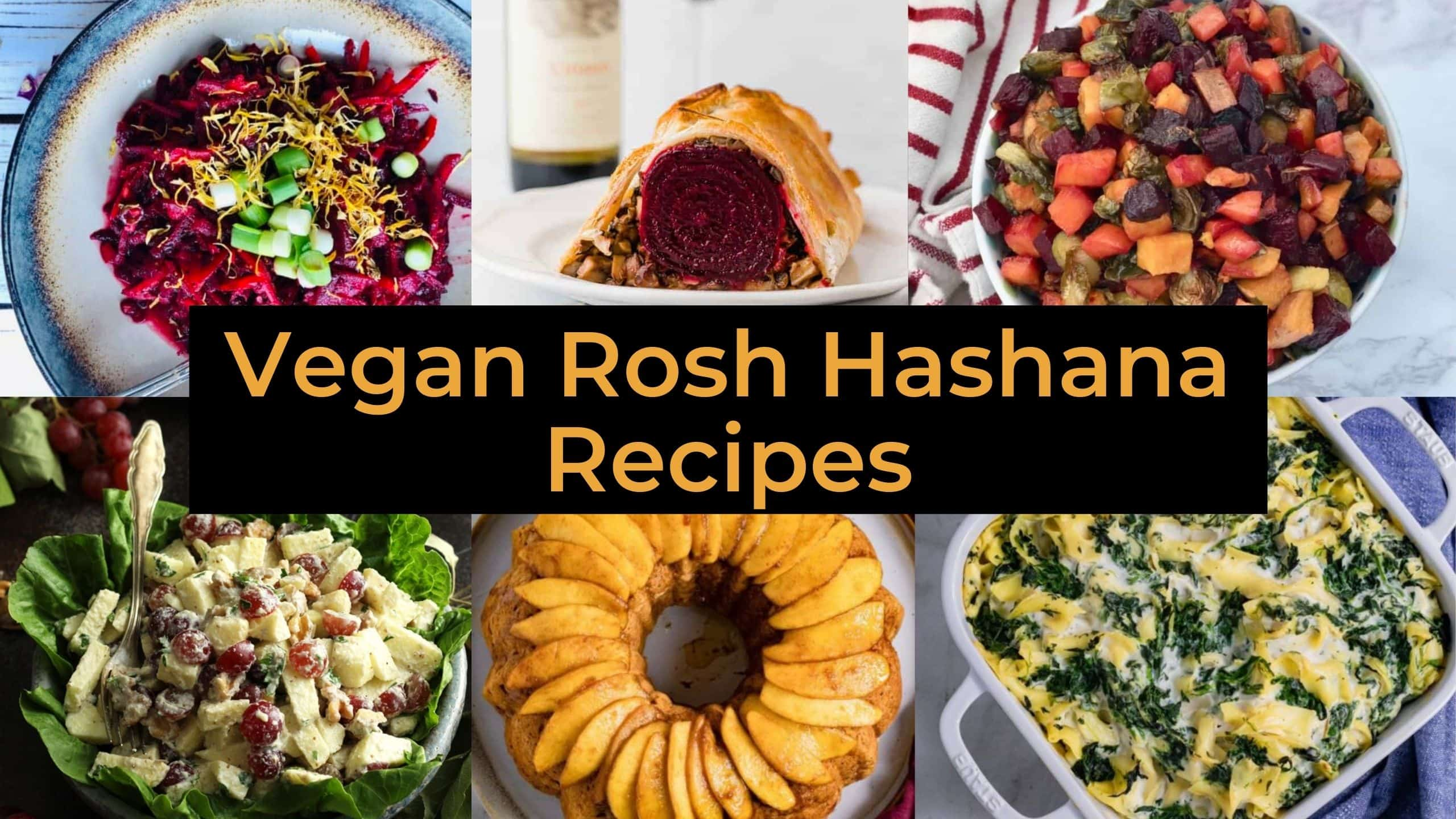 vegan rosh hashana recipes