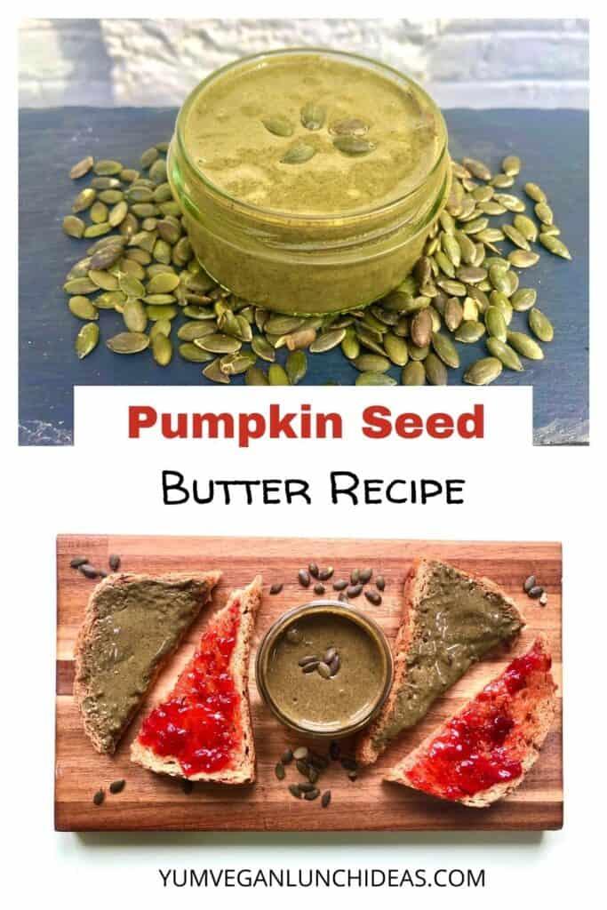 pumpkin seed butter calories