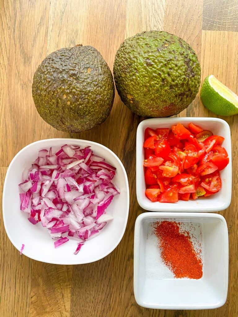 vegan guacamole ingredients
