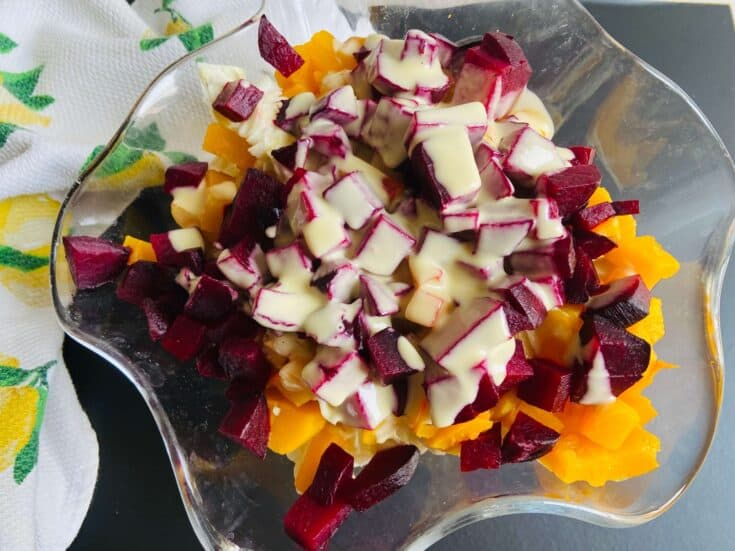 butternut and beetroot salad 1