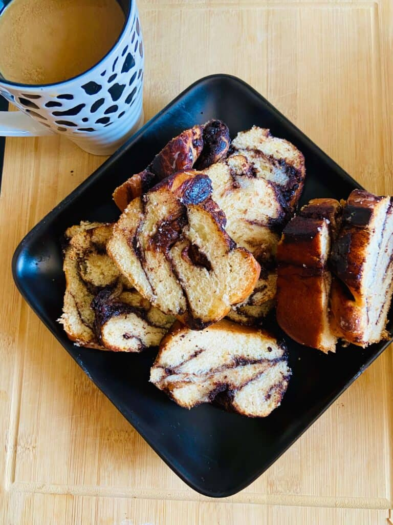 vegan chocolate babka