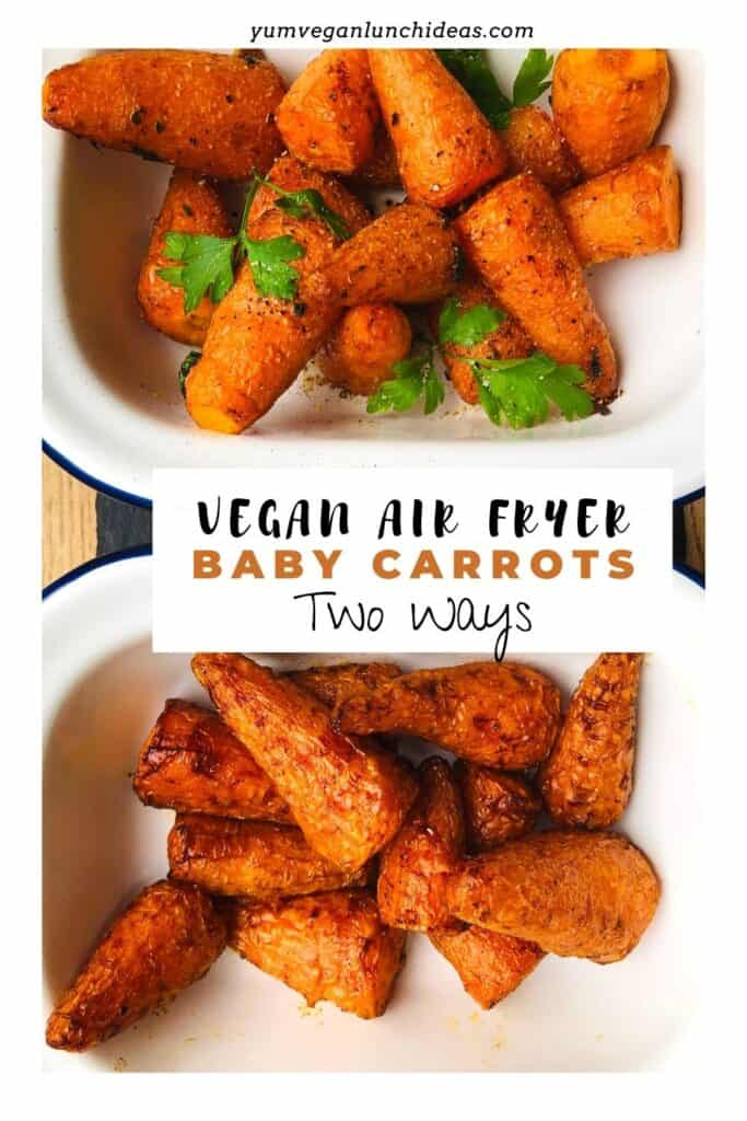 roasted baby carrots in air fryer