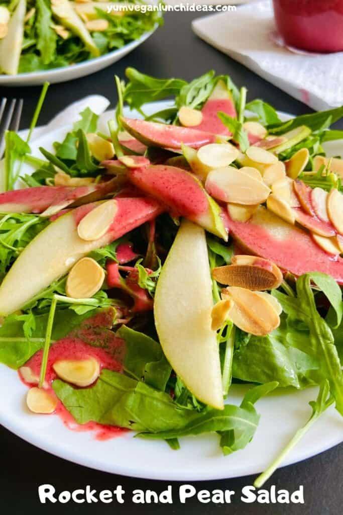 rocket and pear salad pin