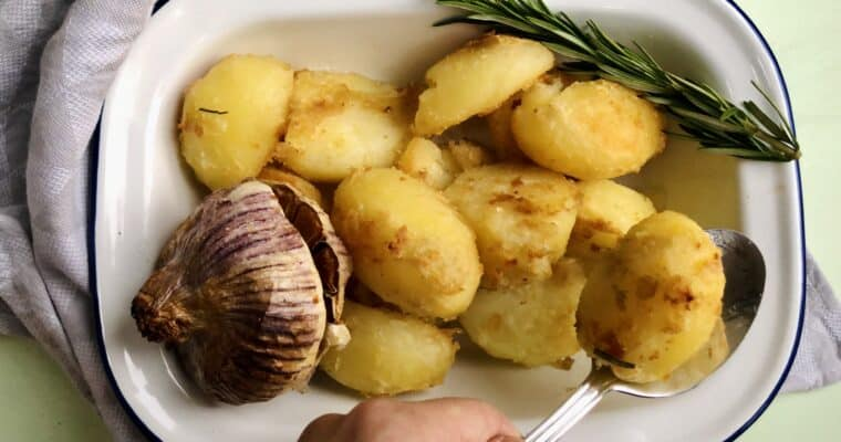 The Best Vegan Roast Potatoes | Vegan Potato Recipes