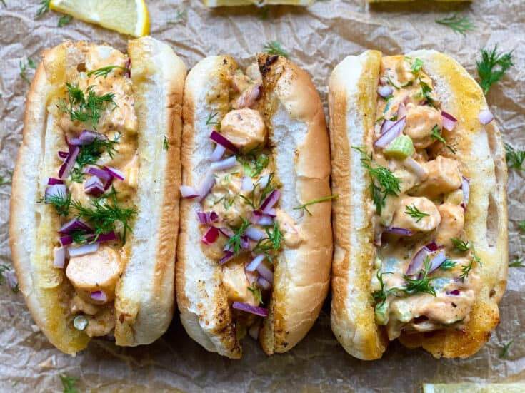 vegan lobster roll recipe
