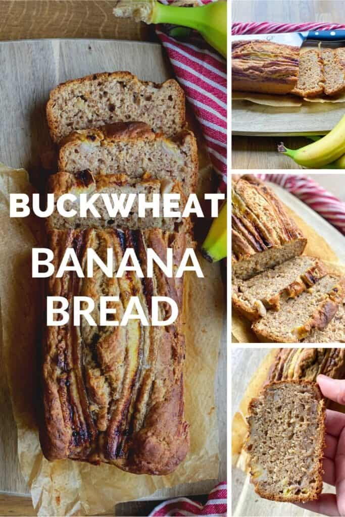 vegan buckwheat banana bread