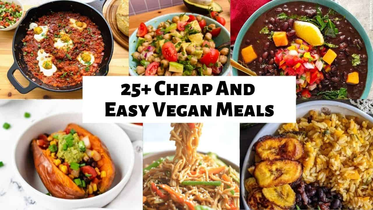 easy cheap vegan recipes