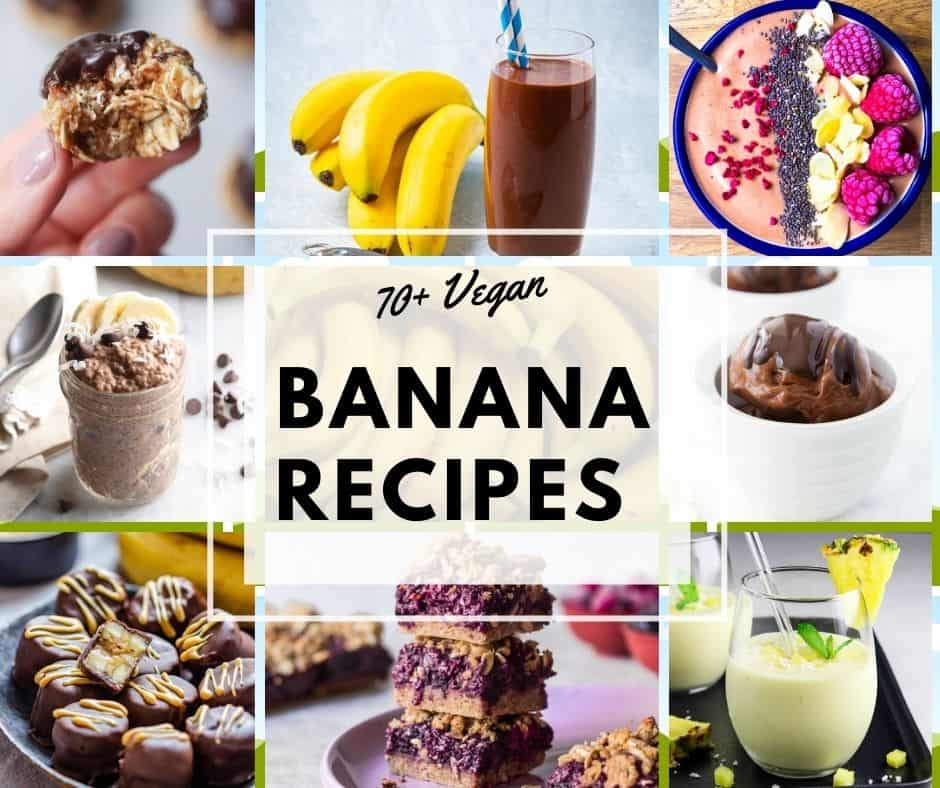 vegan banana recipes