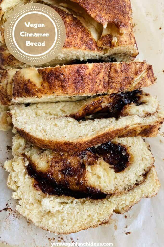 vegan cinnamon bread