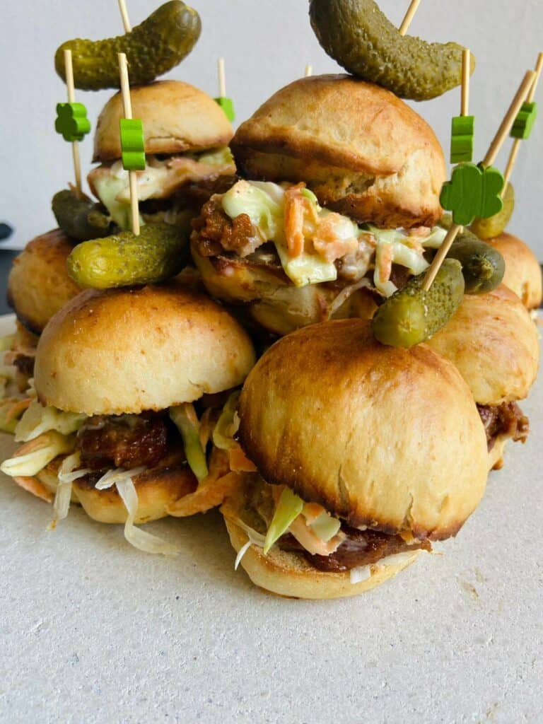 vegan sliders