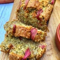 vegan rhubarb load