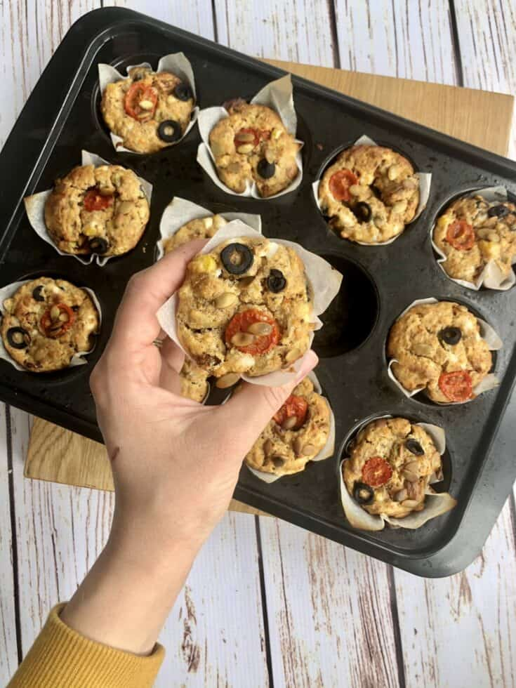 Savoury Vegan Muffins