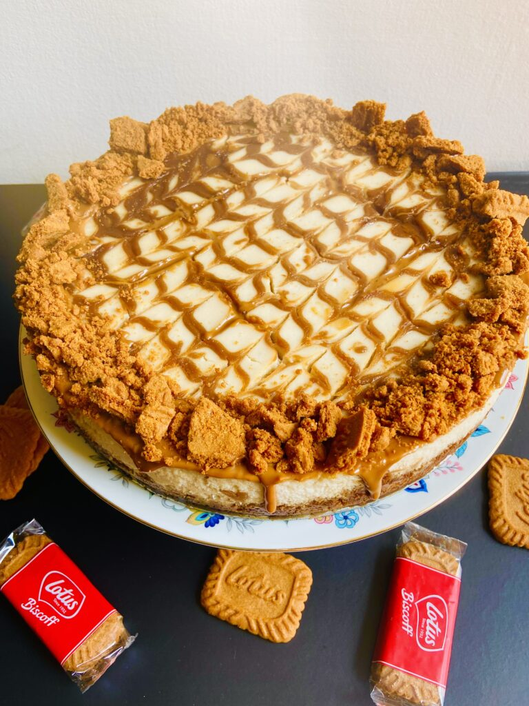 lotus biscoff cheesecake vegan